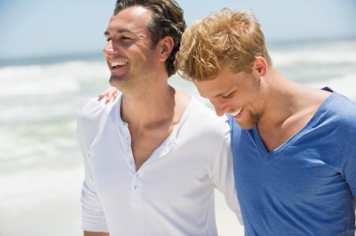 Eelationship Counseling - Smiling Men